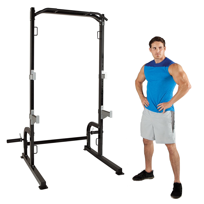 Marcy negro Metal mitad jaula ejercicio conjunto: Amazon.es ...