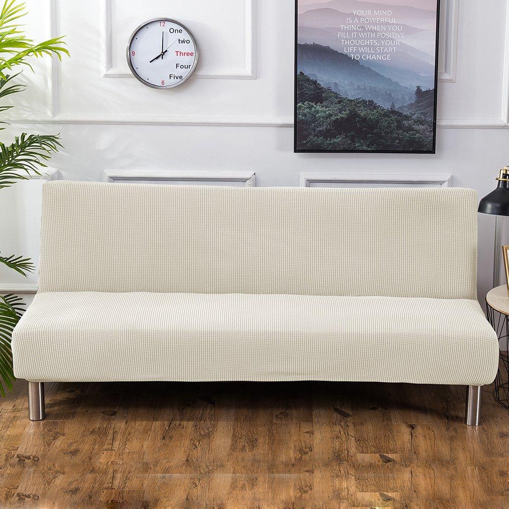 Amazon.com: Younar Funda para futón sin brazos, tejido ...