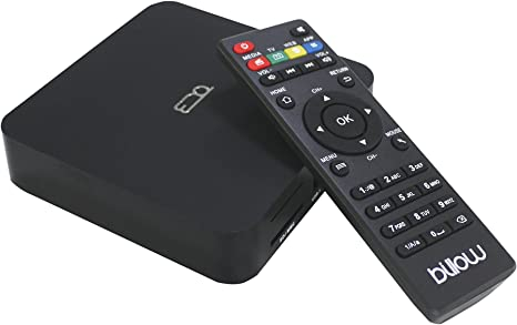 Billow Technology MD08V2 - Smart Android TV Box, Color Negro: Amazon.es: Electrónica