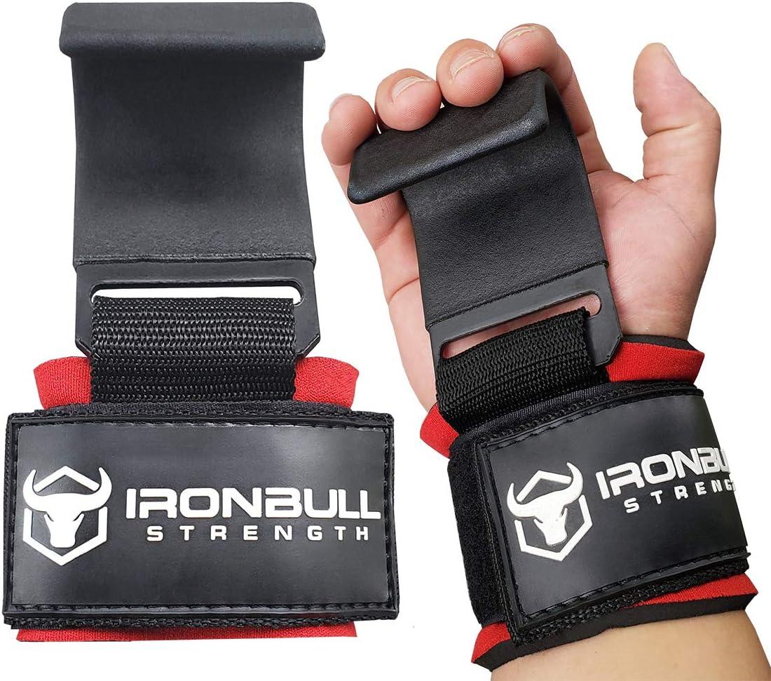 Krafttraining Women Lifting Straps - Verbessern Sie den Grip und Heben Sie mehr Gewicht F/ür Gewichtheben die B/ügel Anheben - Powerlifting Iron Bull Strength Frauen