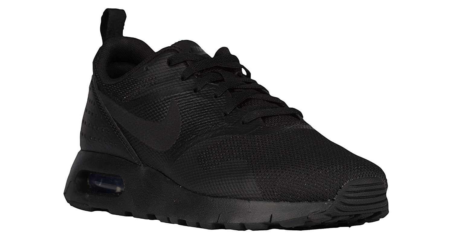 b656678e60 Amazon.com | Nike Youth's Air Max Tavas (PSE) Black/Black (11 Little Kid M)  | Running