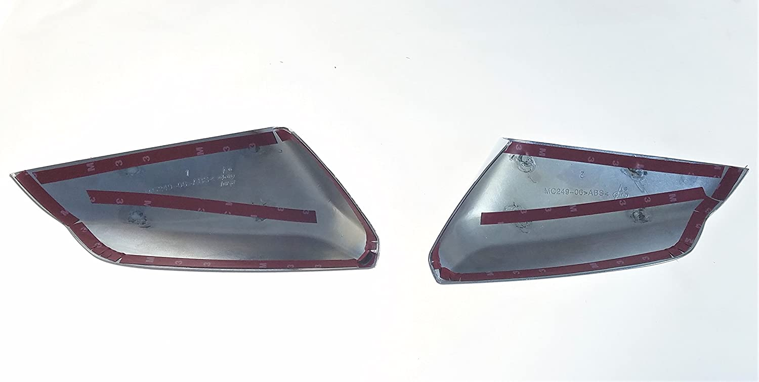 Chrome Mirror Covers Trim Illusion Fits 16-19 Chevy Malibu