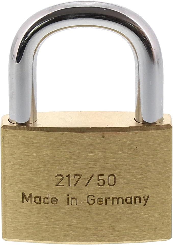 Kneifschutz Schlüssel 2x70mm Vorhängeschloss Edelstahlschäkel 8mm Bügelstärke