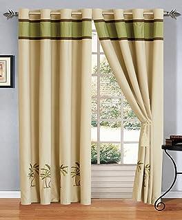 Amazon Palm Tree Curtains