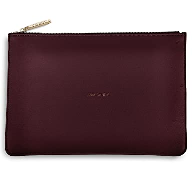 fcb017af7 Katie Loxton Perfect Pouch Clutch Bag Burgundy Red - ARM CANDY(Size: S): katie  loxton: Amazon.co.uk: Clothing