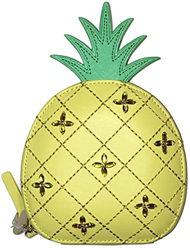e1f73f9a34d8 Kate Spade How Refreshing Pineapple Swarovski Crystal Coin Purse:  Amazon.co.uk: Shoes & Bags