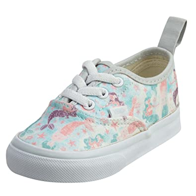 f4a557b9f901 Vans Toddler Authentic Elastic Lace (Mermaid) Ice Flow Glitter VN0A38E8OF3  Toddler 3.5  Amazon.co.uk  Shoes   Bags
