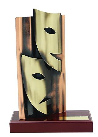 Trofeos regalos para obra teatral compañía GRABADOS actores teatro PERSONALIZADO figuras premios: Amazon.es: Hogar