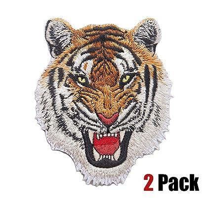 Tiger Applique Patch Emblemen Iron on