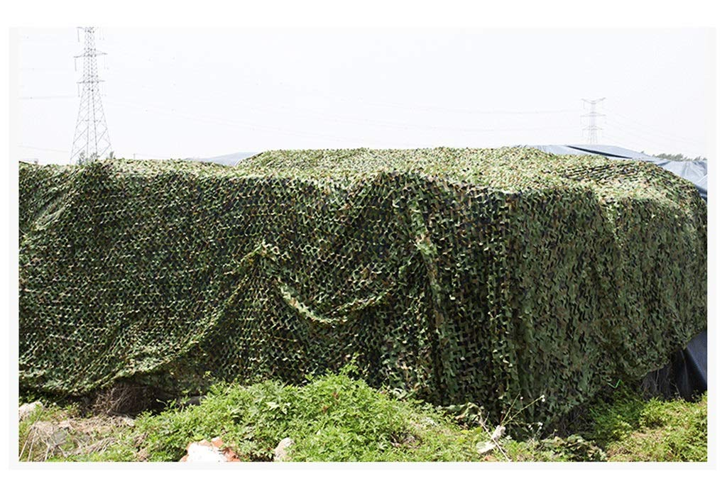 BÂche,Filet de camouflage Filet de camouflage extérieur de camouflage, filet de camouflage de parasol de camping de jungle, filet de décoration double personnalité de filet net décoratif, pour le camp  6.86.8m