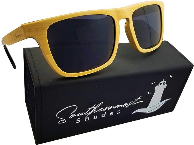 ba7a02e26f anteojos de sol de bambú para hombre, marco de madera, lentes polarizadas,  Natural