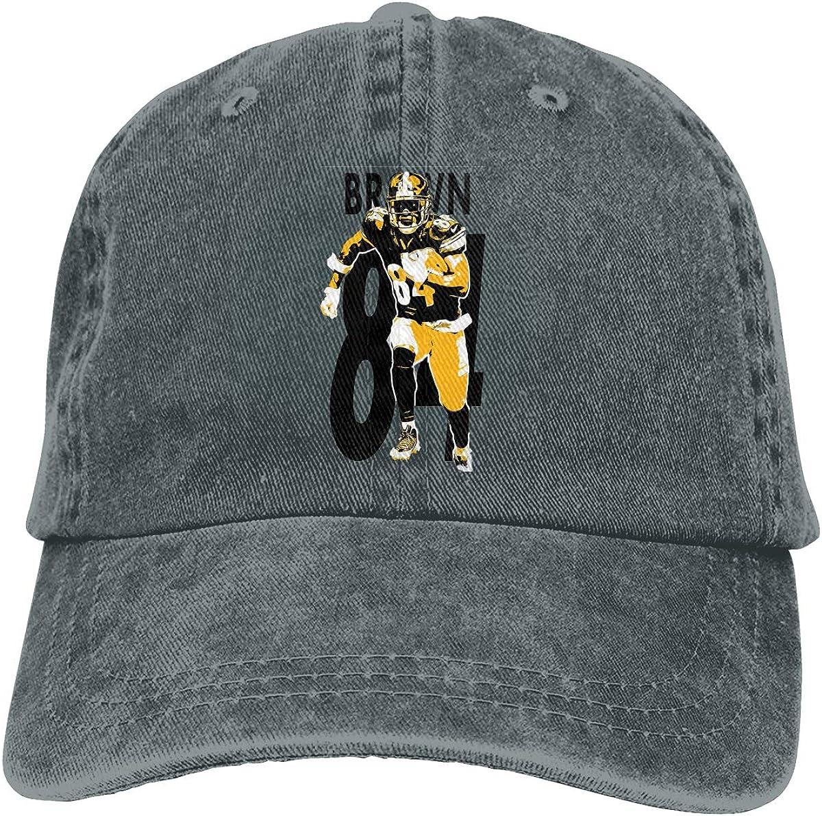 DeniCar Unisex Adjustable Baseball Caps Antonio-Brown-AB-84-Logo Cowboy Skull Cap