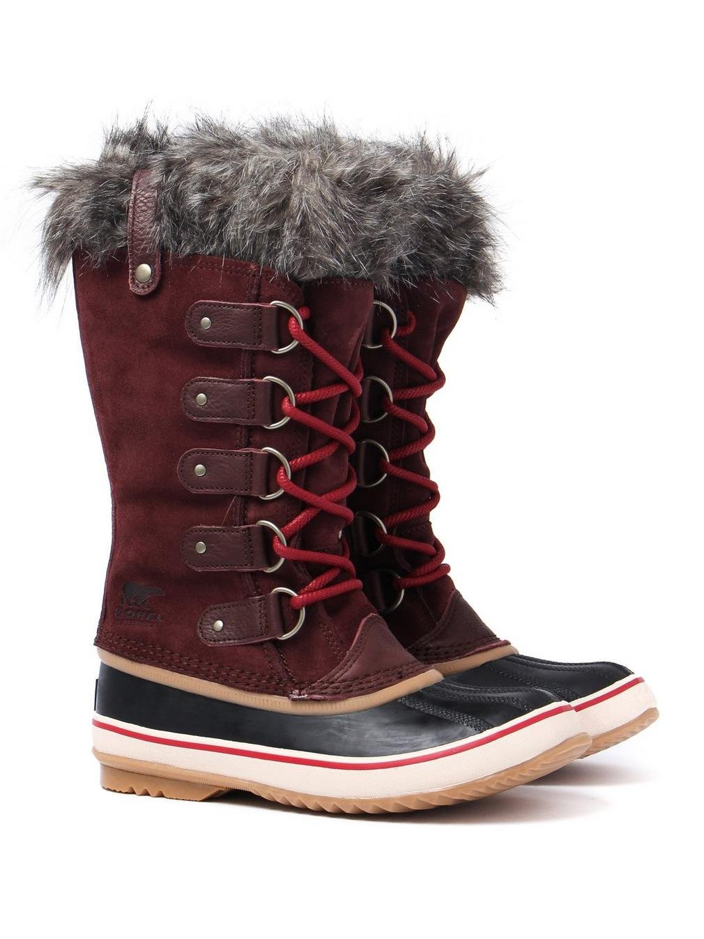Sorel Joan Of Artic Womens B01NCLVHXC 9.5 B(M) US|Redwood / Red Element Redwood / Red Element 9.5 B(M) US