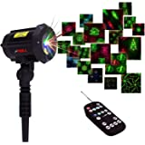 Motion Pattern Firefly 3 Models in 1 Continuous 18 Patterns LEDMALL RGB Outdoor Laser Garden and Christmas Lights with…
