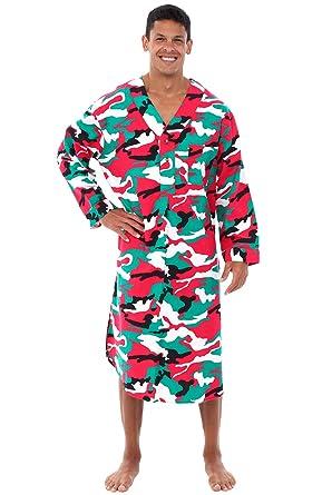 b07ea61781 Alexander Del Rossa Mens Flannel Nightshirt