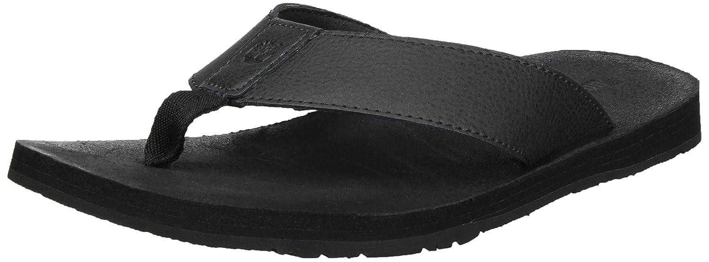 60c9cd644965 Timberland Men s Wild Dunes Leather Flip Flops  Amazon.ca  Shoes   Handbags