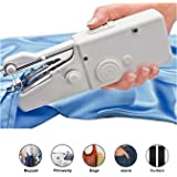 MQFORU Portable Sewing Machine, Mini Handheld Sewing Machine Cordless Electric Stitch Household Tool for Fabric…
