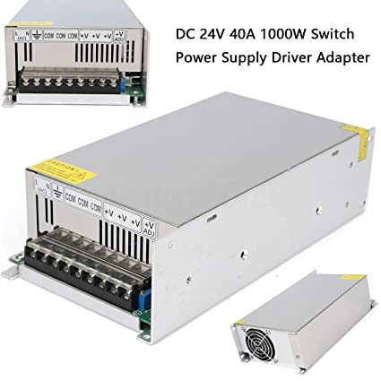 24V 40A 1000W Universal Regulated Switching Power Supply Driver for CCTV  camera LED Strip AC 100-240V Input to DC 24V
