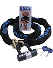 Oxford Products OF159 1.5m Heavy Duty Chain Lock with Disc Lock