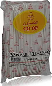 CO-OP Disposable Tea Spoon - 50 Pieces