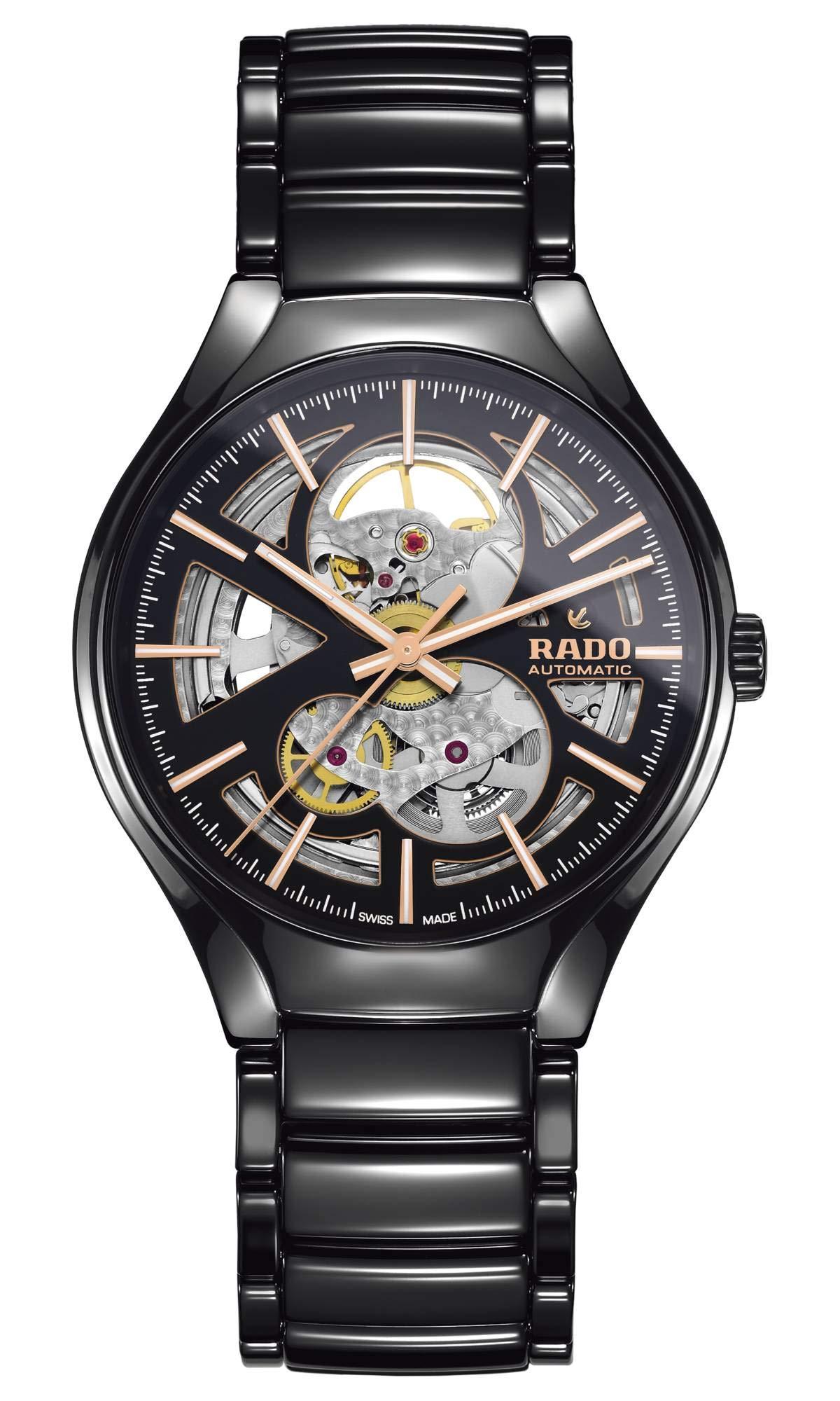 Rado Men's True Open Heart Ceramic Swiss Automatic Watch