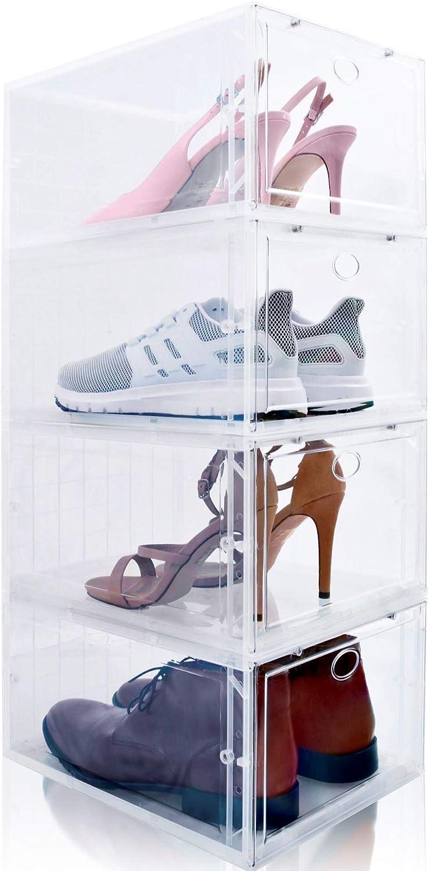 Amazon.com: Drop Front Shoe Box, Set of