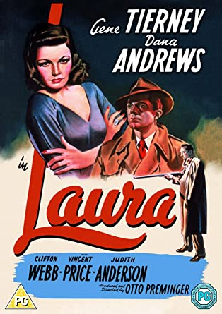 Image result for laura 1944 poster