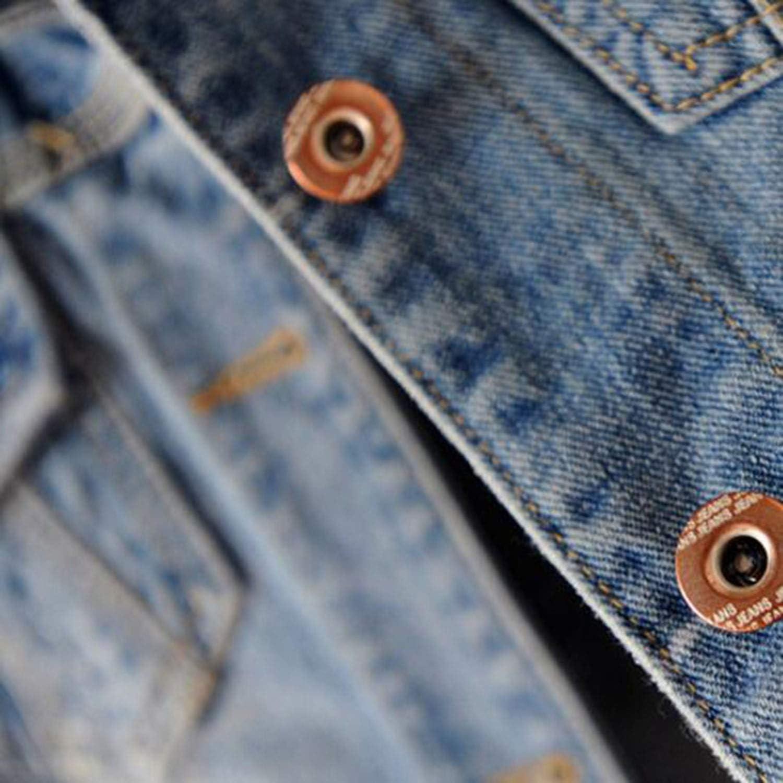 Nine days shop Fashion Plus Size Denim Jacket Women Boyfriend Vintage Basic Outerwear