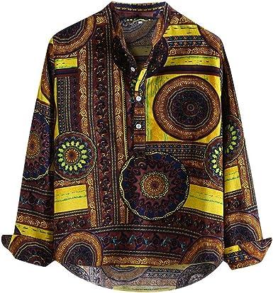 Aderente da Uomo Verde Aperto Colletto di Qualità Moda Camicia in Cotone Abito