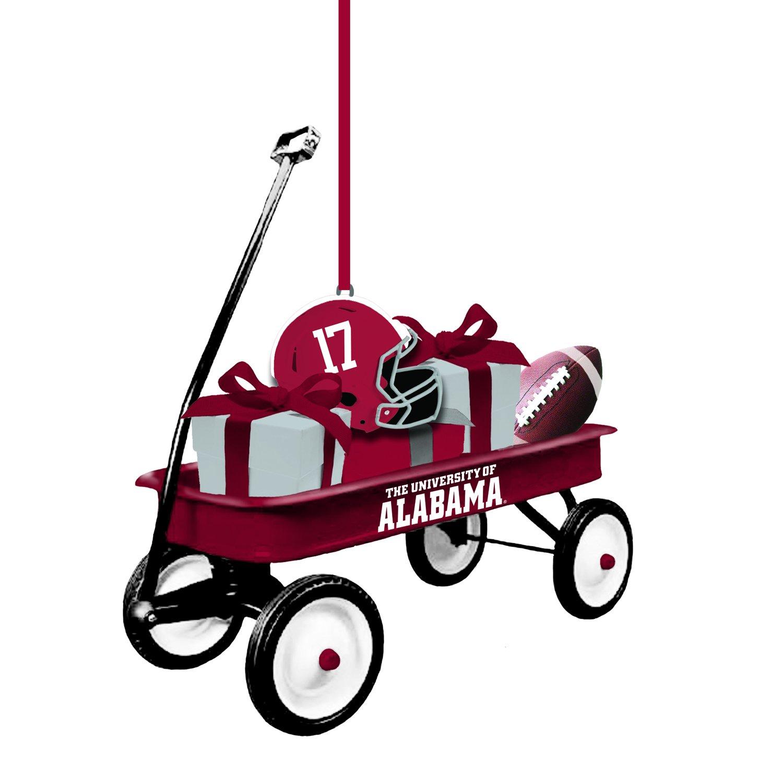 Team Sports America University of Alabama Team Wagon Ornament