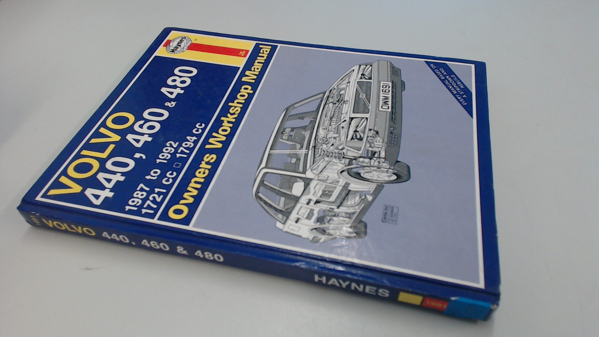 Volvo 440, 460 and 480 Owners Workshop Manual (Service & repair manuals):  A. K. Legg: 9781850106913: Amazon.com: Books