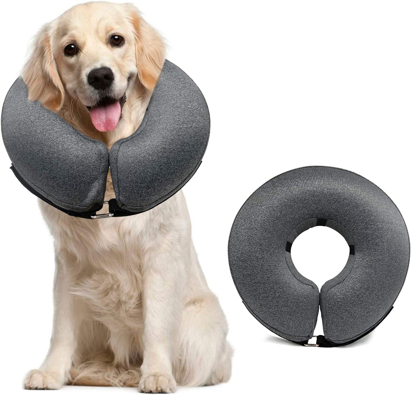 MIDOG Inflatable Alternative Collar for Wounded/Sensitive Dogs