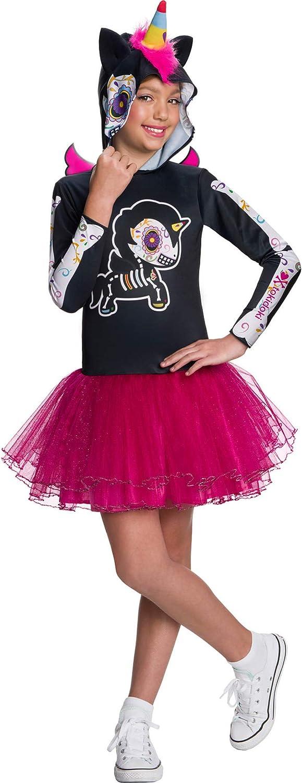 Rubies Girls Tokidoki Dia De Los Muertos Caramelo Unicorno Costume Large