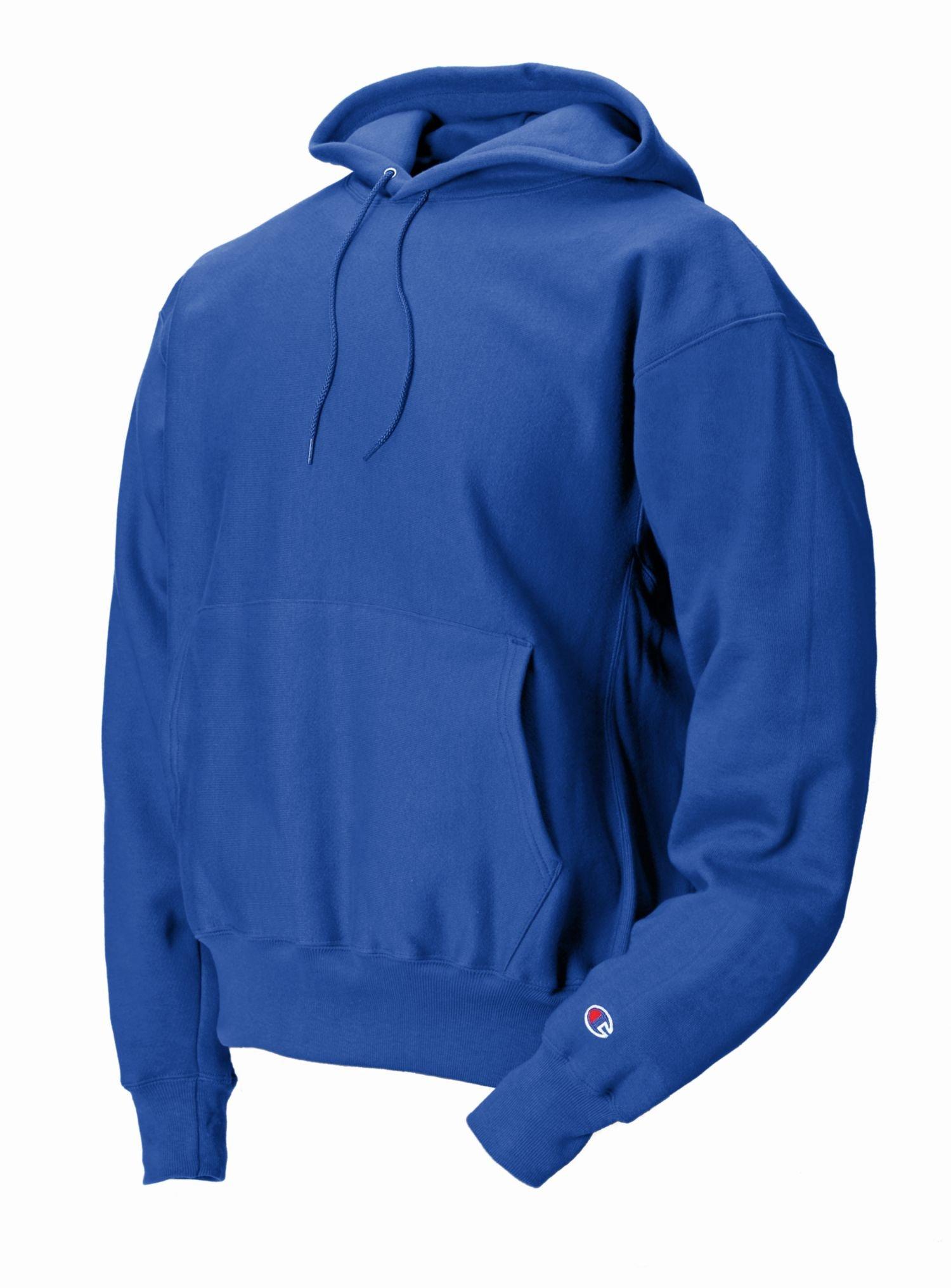 Champion mens Reverse Weave 12 oz. Pullover Hood(S1051)-SPORT ROYAL-3XL