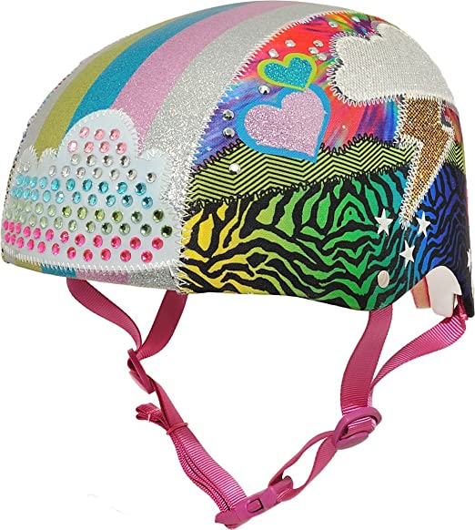 c4e8e2fc2ca8a Amazon.com   Raskullz Girls 8+ Loud Cloud Sparklez Helmet   Sports    Outdoors