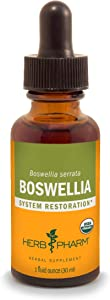 Herb Pharm Certified Organic Boswellia Liquid Extract for Joint Support, 1 Ounce
