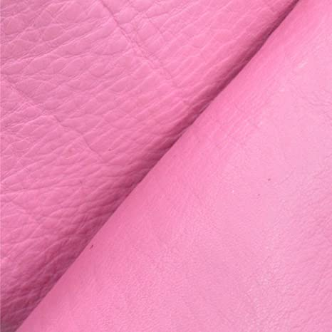 ab348b247971d Amazon.com: The Leather Guy - Cotton Candy Pink Cow Hide 4