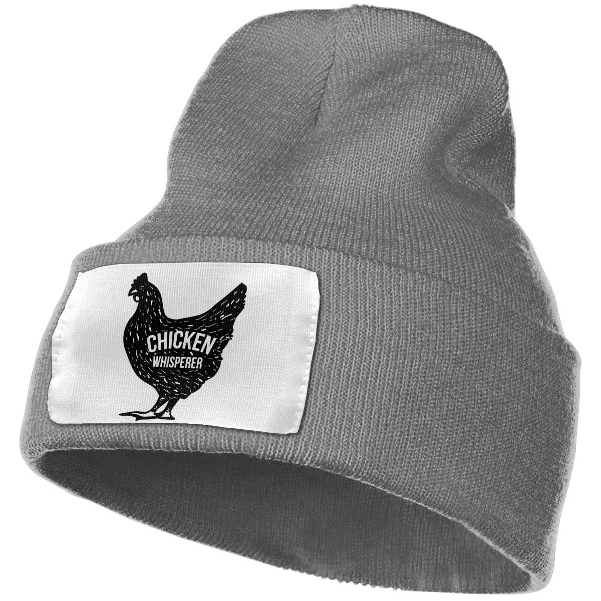 WHOO93@Y Mens and Womens 100/% Acrylic Knitting Hat Cap Chicken Whisperer Thick Skull Cap