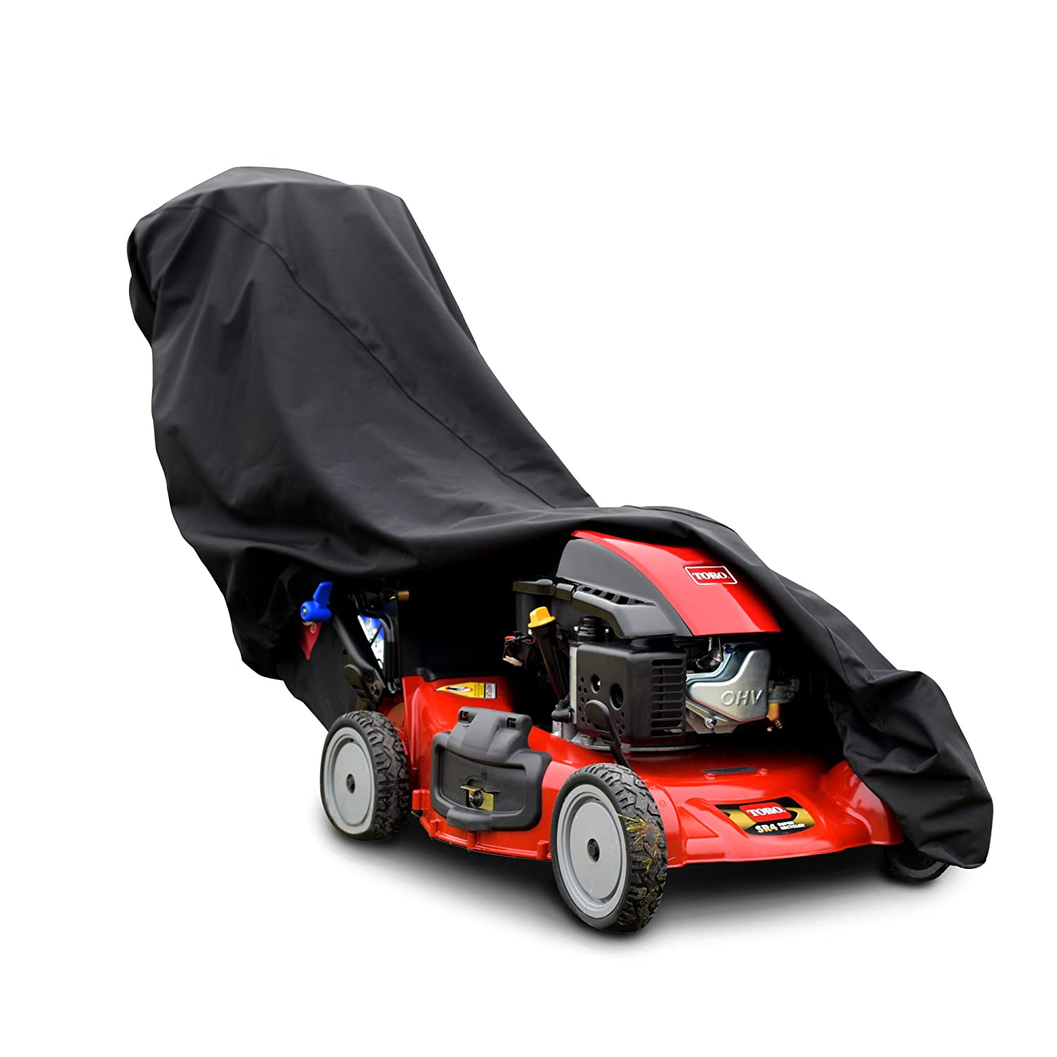 Budge TPLM1 Lawn Mower Cover, Black Budge Industries