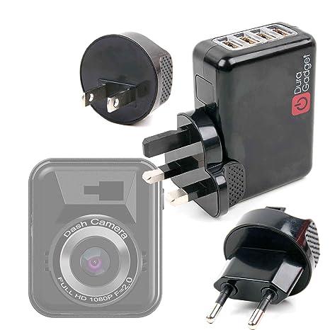 DURAGADGET Kit De Adaptadores con Cargador para GPS Byakov ...