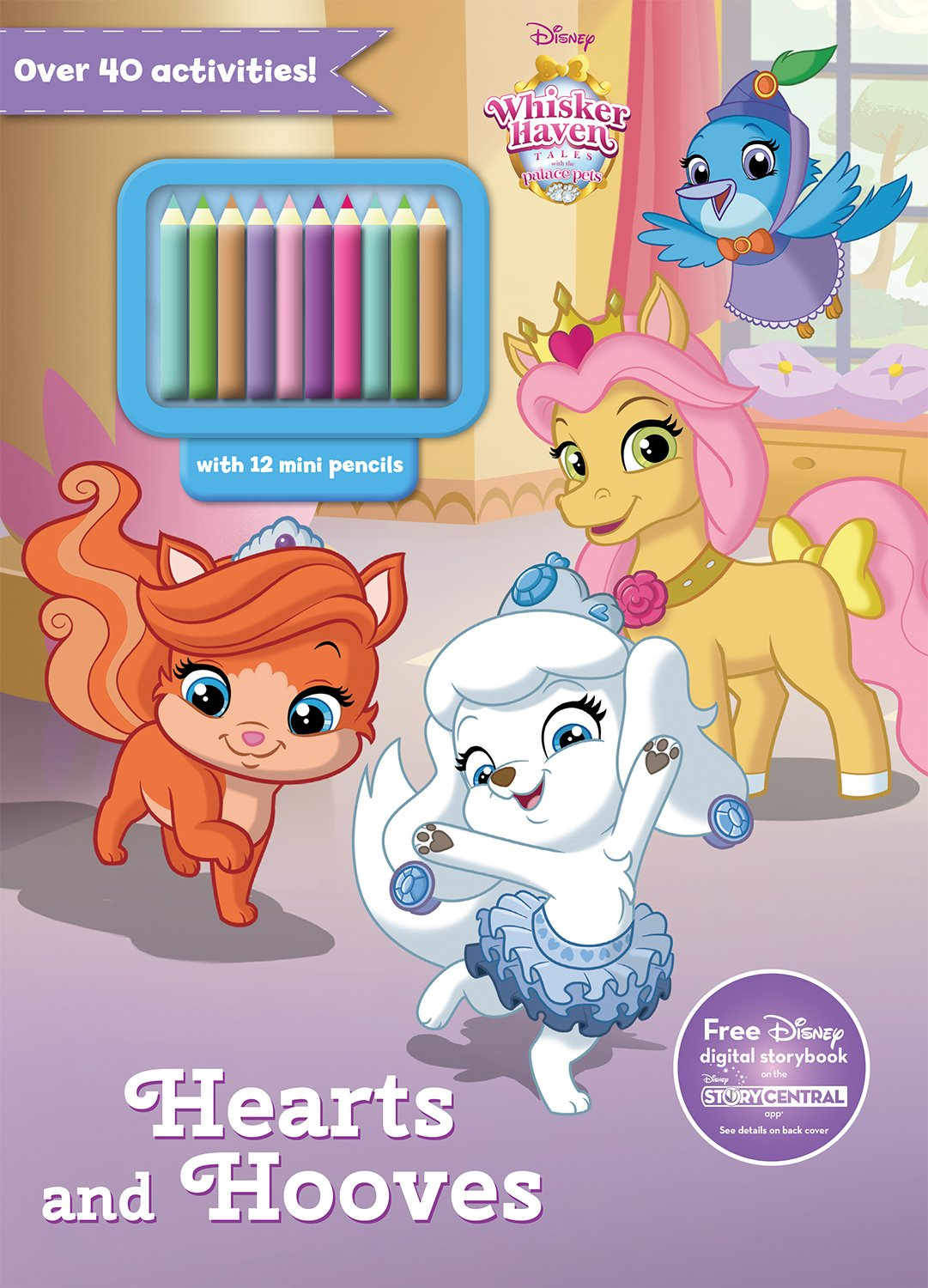 Disney Whisker Haven: Hearts and Hooves (Activity Book With Covermount) (Disney Whisker Haven, Tales with the Palace Pets) PDF