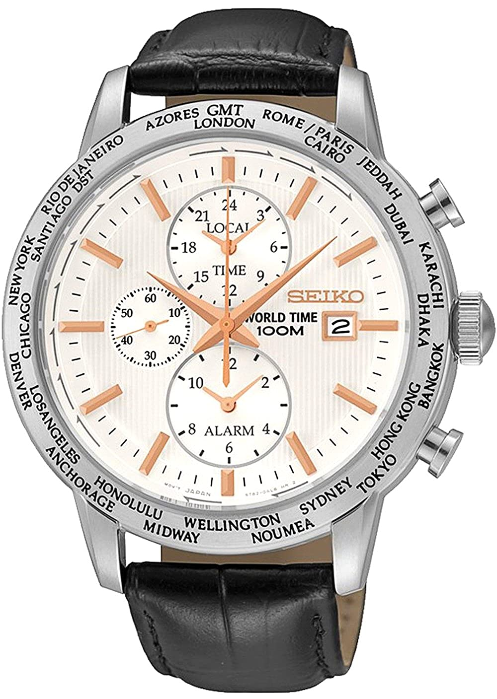 Amazon.com: Watch Seiko Neo Sports Spl053p1 Men´s White: Watches