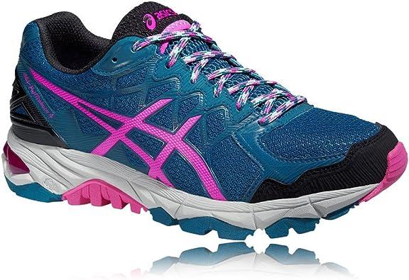 Asics Gel-fujitrabuco 4 - Zapatillas de correr para mujer, mujer, azul, xxxx-large: Amazon.es: Deportes y aire libre