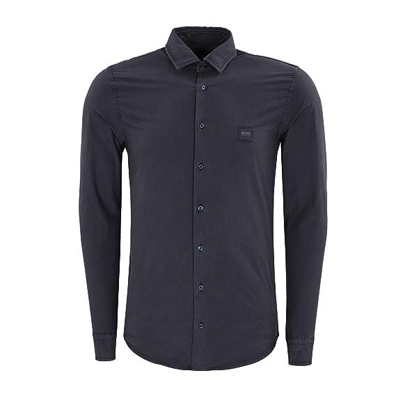 8a06f367e Boss Casualwear Mypop Shirt: Amazon.co.uk: Clothing