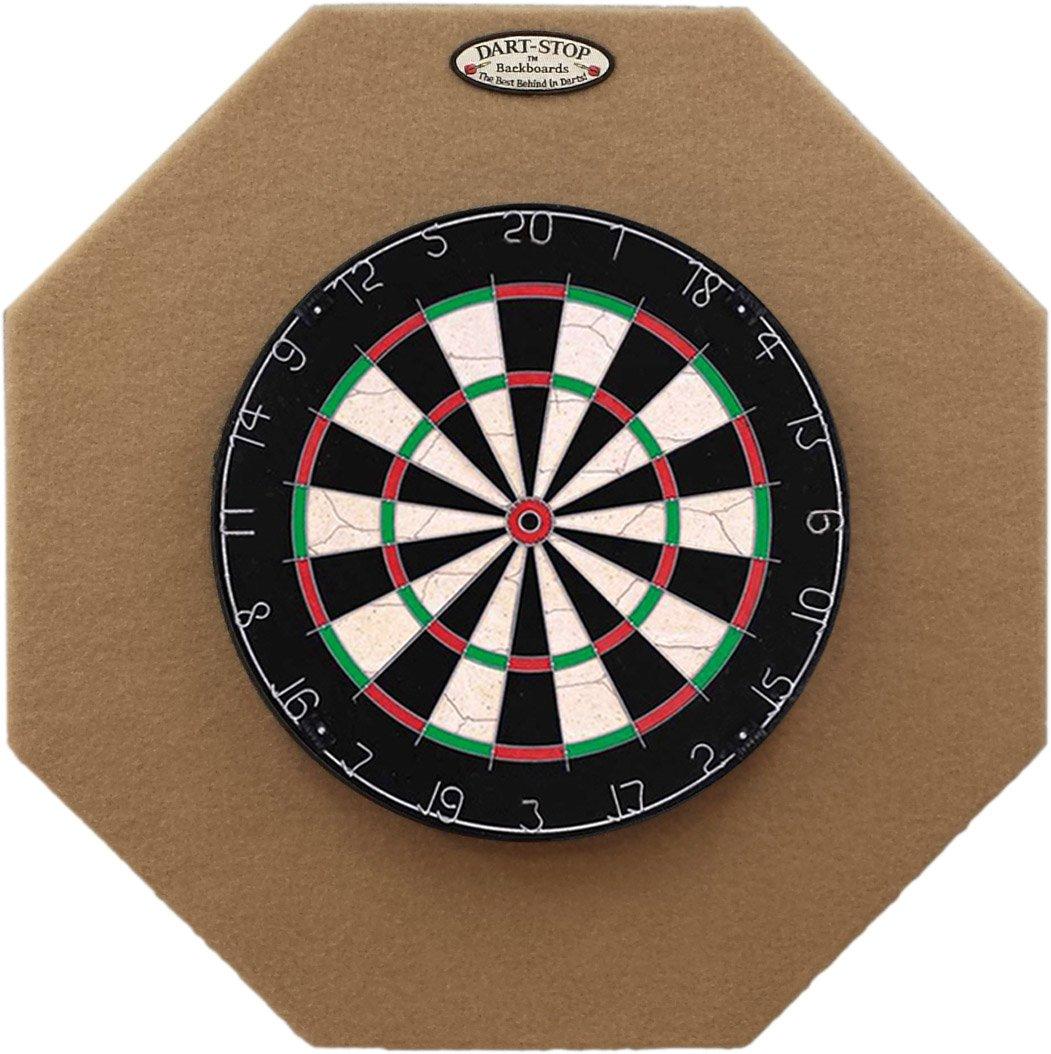 Dart-Stop 29 inch Professional Dart Board Backboard, Octagonal | Wall Protector