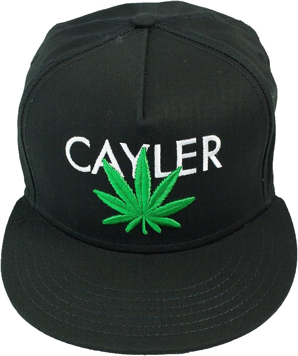 Casquette Snapback Cayler And Sons Cayler Cap Imprimé Weed Noir ...