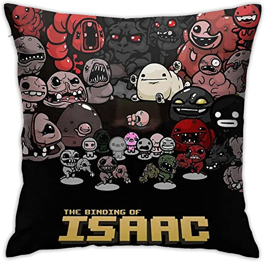 Mabel The Binding of Isaac Square(45cmx45cm) Pillow Home Bed Room Interior Decoration