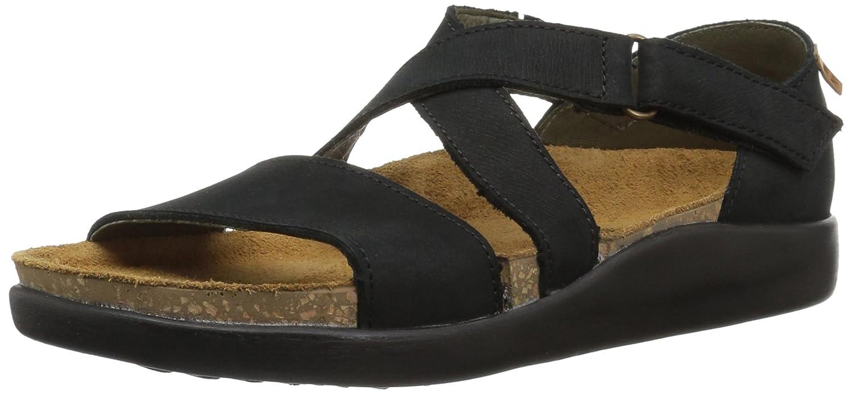 El Naturalista Women's N5098 Pleasant Black/Koi Flat Sandal B075LFTDJV 42 Medium EU (11 US)|Black