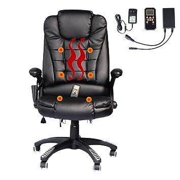 amazon com home office computer desk massage chair executive rh amazon com shiatsu massage desk chair massaging desk chair