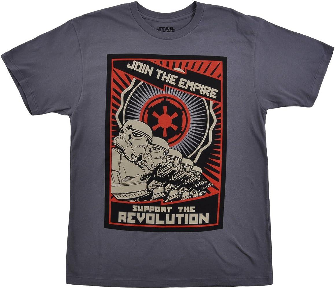 Disney Star Wars T-Shirt Storm Troopers Grey Small